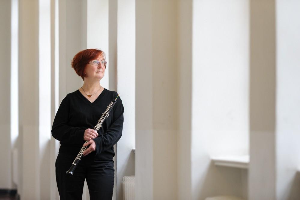 Oboistin Birgit Schmieder
