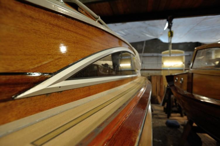 Schärenkreuzer in der Bootswerft von Sebastian Hoffmann